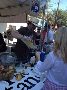 Standard Pour's Brian McCullough got his Margarita on at last year's event. Photo by Nico Ponce