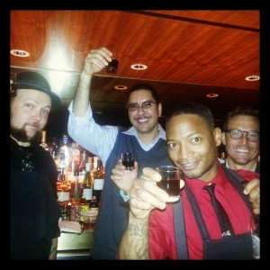 Are these bartenders ready to represent or what? Some of the Bar Smyth staff headed to New Orleans.