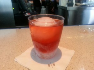 One of Rocco's Negroni variations at P/S