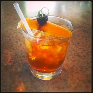 Eakin's victorious cocktail, the Town & Country