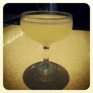 Cucumber gimlet, by Rocco Milano
