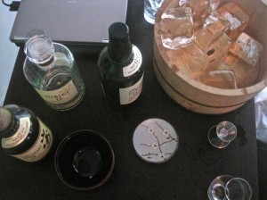 Last year's event featured samplings of Japanese Scotch