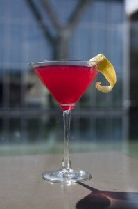 Enhance your art appreciation with a cocktail like this. (Photo courtesy of the Fort Worth Museum of Modern Art)