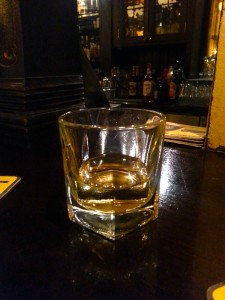 Irish whiskey at Trinity Hall