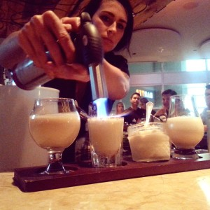 Barter eggnog flight