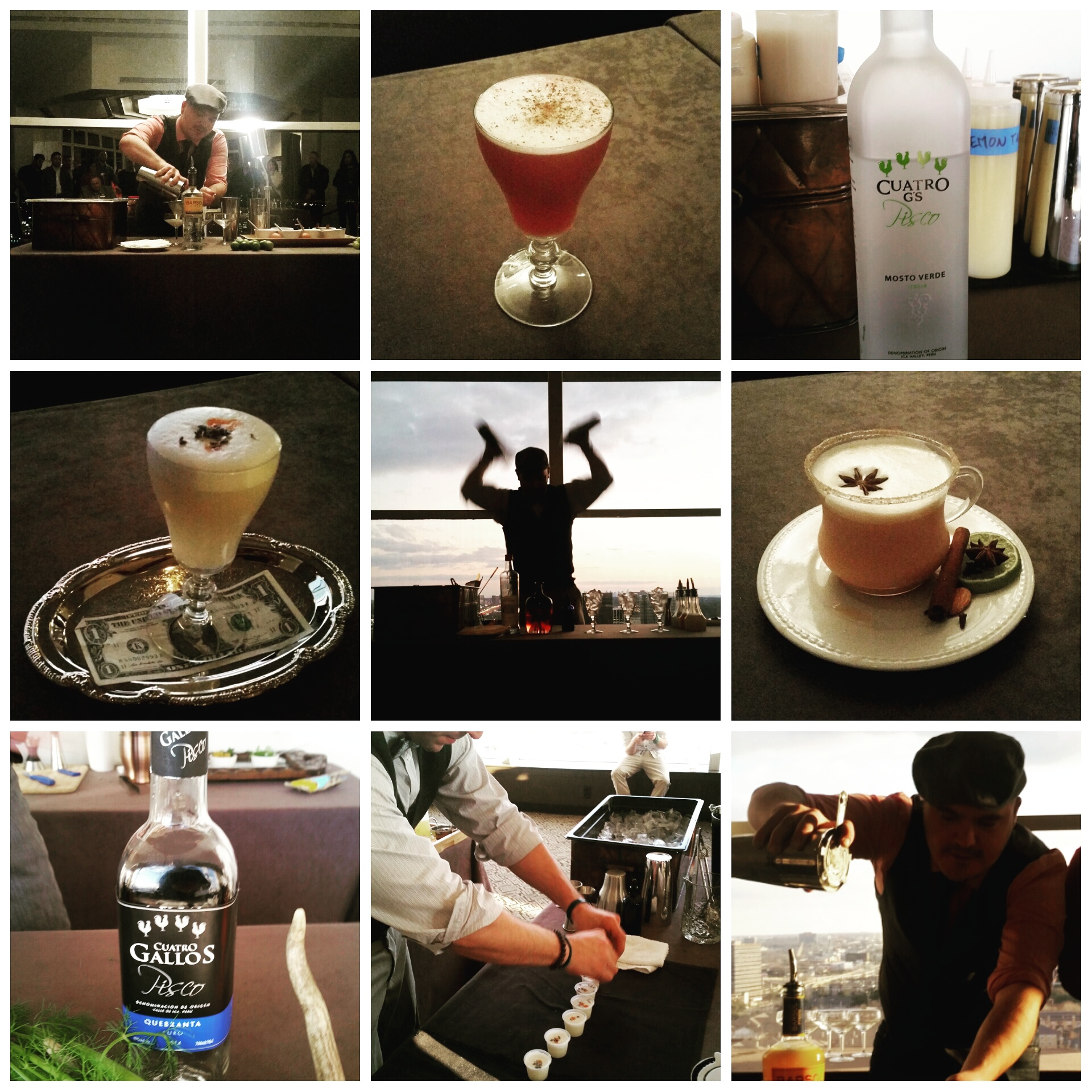 If February's Pisco Sour competition offers any clues, you're in for a treat Monday.