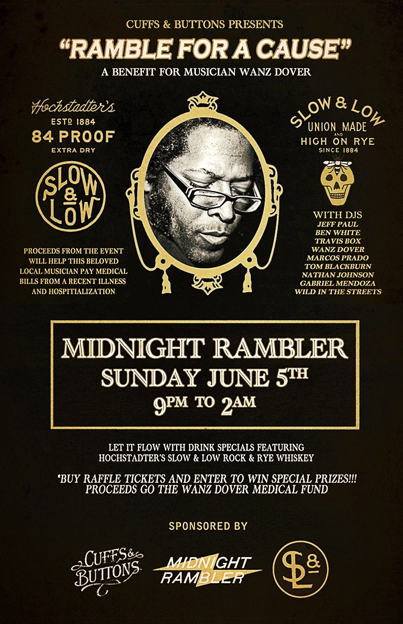 A musician's medical expenses are piling up, so Midnight Rambler is ready to get down.