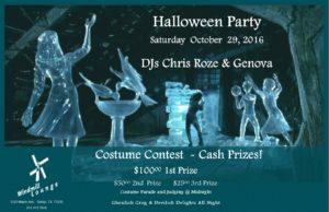 The Windmill's Halloween party gets underway at 9 p.m. (Image courtesy of Windmill Lounge)