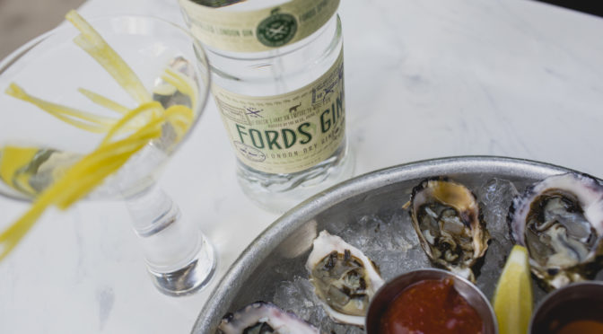 Martinis and oysters are on deck as Ford's Gin co-founder visits Dallas